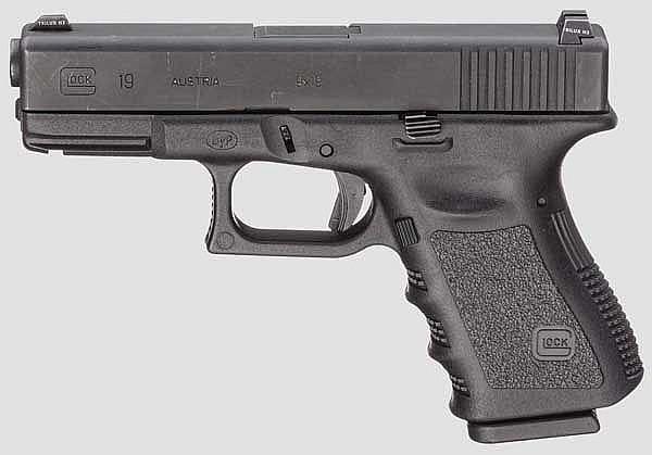 Glock Mod. 19, Polizei Bayern