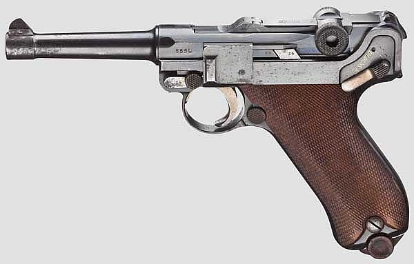 Pistole 08, DWM 1913