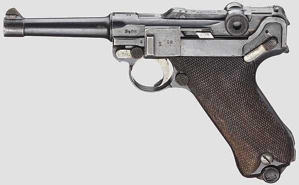 Pistole 08, Erfurt 1917
