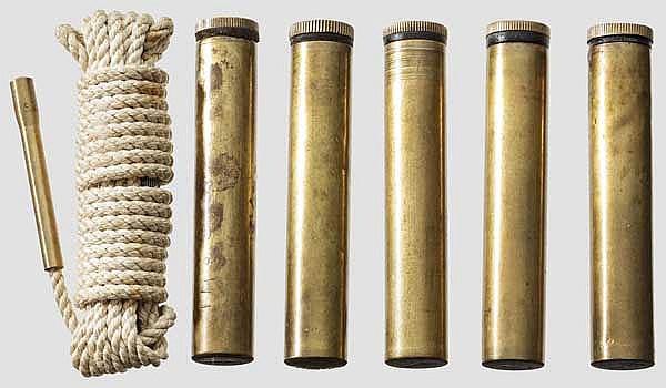 Konvolut Messingöler brit. Gewehre