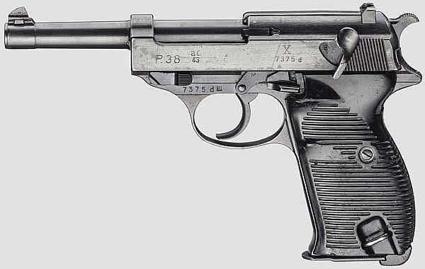 Walther P 38, Code
