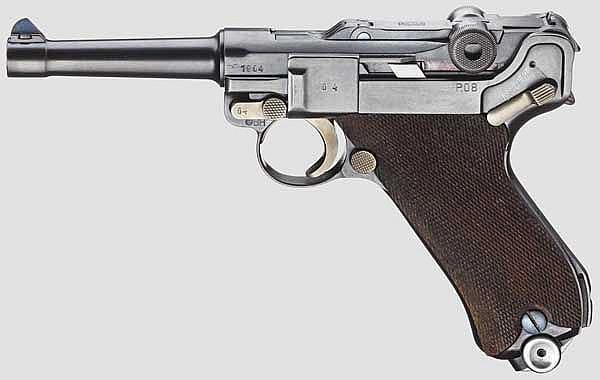 Pistole 08, Mauser-Banner