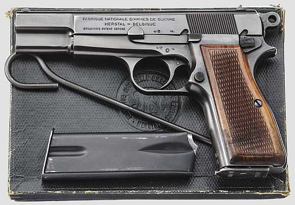 FN HP Mod. 35, Gendarmerie