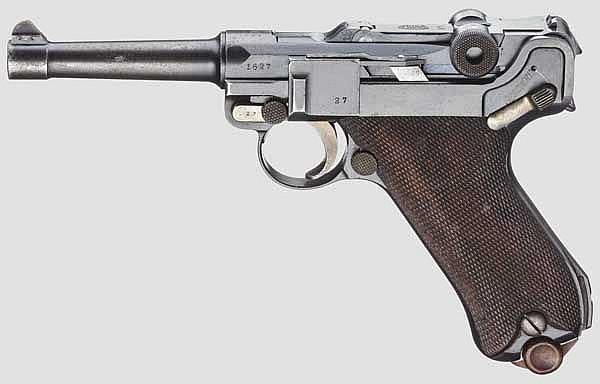 Pistole 08, DWM 1915, Polizei Weimar