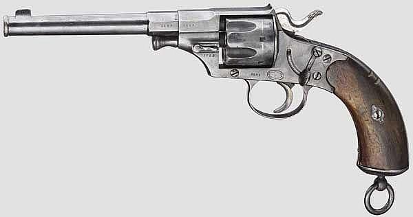 Reichsrevolver Mod. 1879, Dreyse