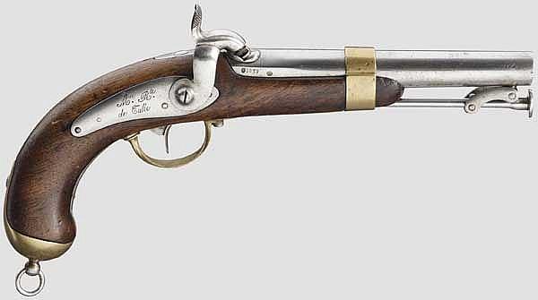 Marinepistole M 1837, 1. Modell