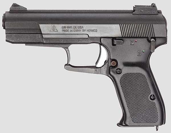 Einhandpistole Mod. 77 B