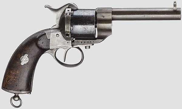 Pistola a rotazione, Mod. 1861 C,