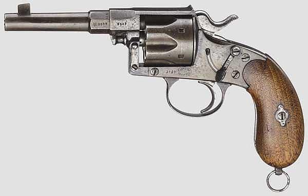 Reichsrevolver Mod. 1883, v. Dreyse