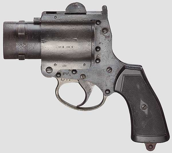Pyrotechnic Pistol No. 4 MK 1