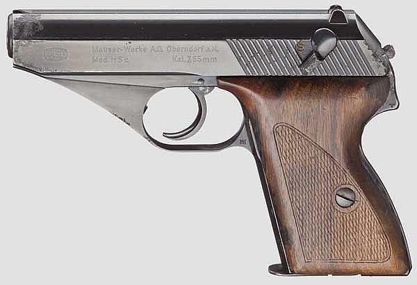 Mauser Mod. HSc, frühe Ausführung