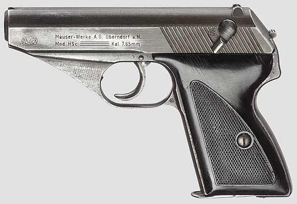 Mauser Mod. HSc, frz. Okkupation