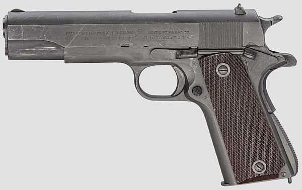 Colt Mod. 1911 A 1, mit Schulterholster
