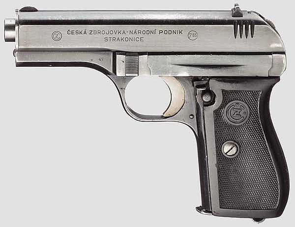 CZ 27, Dienstwaffe