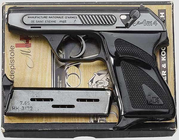 Heckler & Koch Mod. HK 4, Zoll