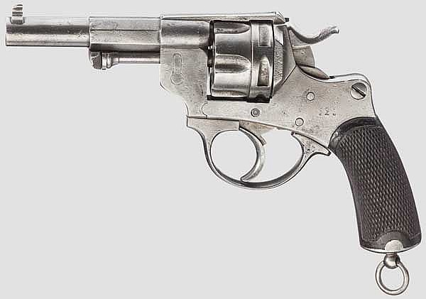 Revolver M. 1874 Fabrication Civile