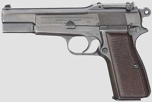 FN HP Mod. 35, mit Tasche