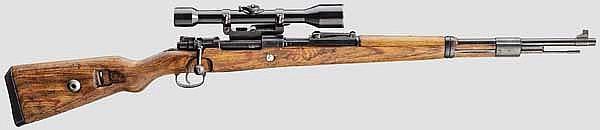 Zielfernrohrgewehr 98 k, Code