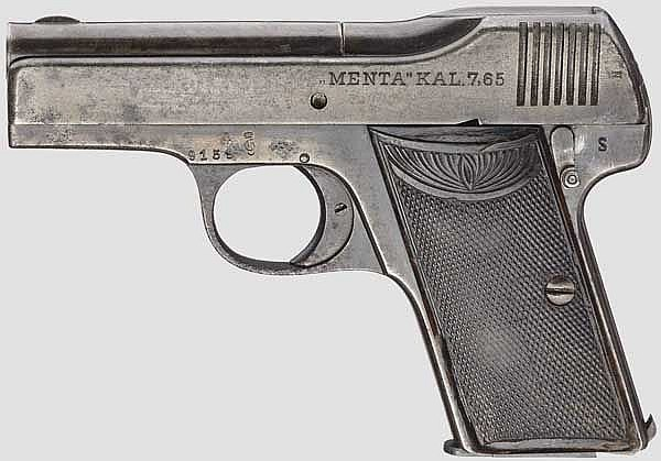 Pistole Menta, Militärkontrakt