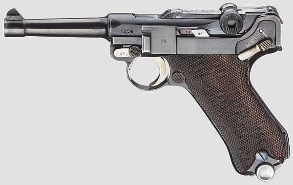 Pistole 08, Simson