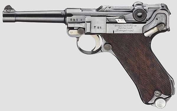 Pistole 08, Simson, Polizei