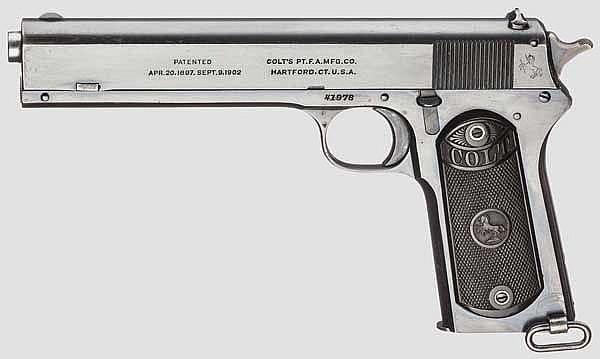 Colt Model 1902 (Military) Automatic Pistole
