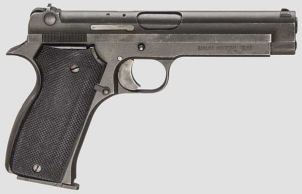 S.A.C.M. Mod. 1935 A, Polizei