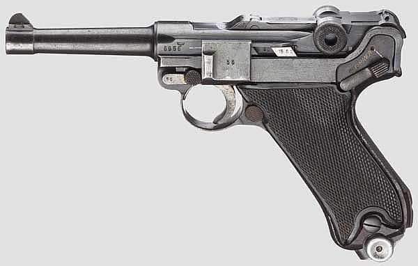 A Parabellum Mauser 41, Portugal Navy 1941, 3rd contract