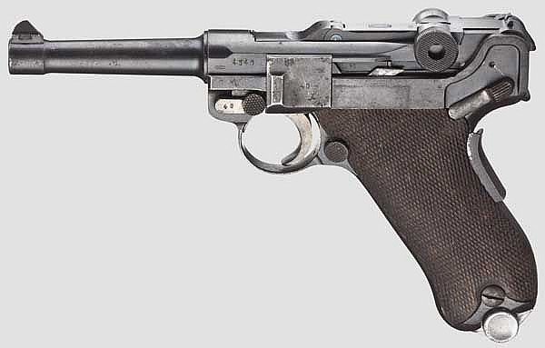 A Parabellum Mod. 1906, Mauser, Portugal Navy 1937, 2nd contract