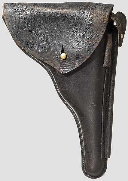 Tasche zur Parabellum Mauser Mod. 1906, Portugal Marine