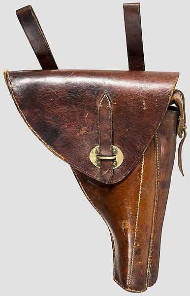 Koffertasche zur Parabellum Mod. 1906 für Offiziere Dutch East Indian