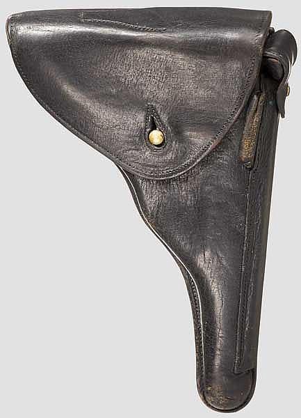 Tasche zur Parabellum Mauser 41, Portugal Marinekontrakt
