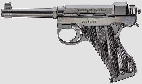 Husqvarna M 40, mit Tasche, Polizei
