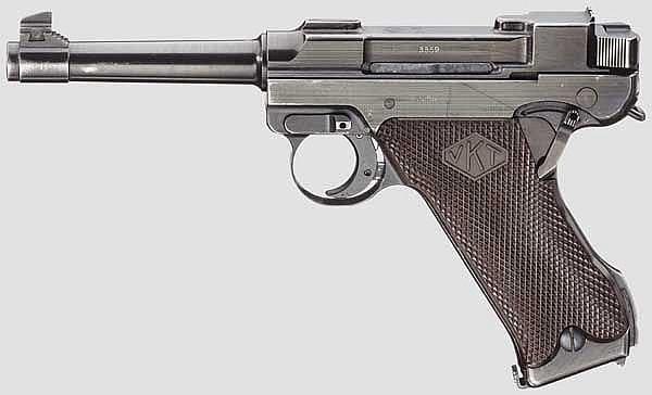 Lahti Mod. L-35, Typ I, mit Anschlagkasten