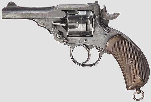 Webley Mark III .455 Service Revolver, um 1900