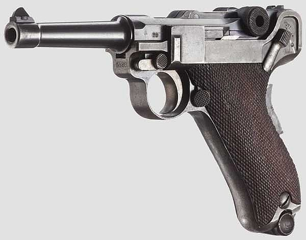 A Parabellum Mod. 1905 Dutch Transition