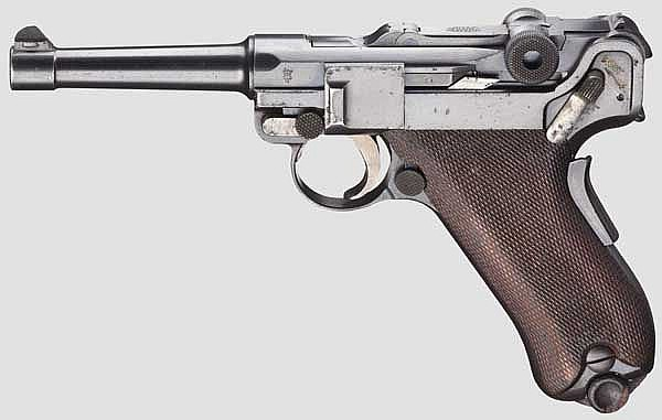 A Parabellum Mod. 1906, DWM, Mod. 11 Dutch East India Army
