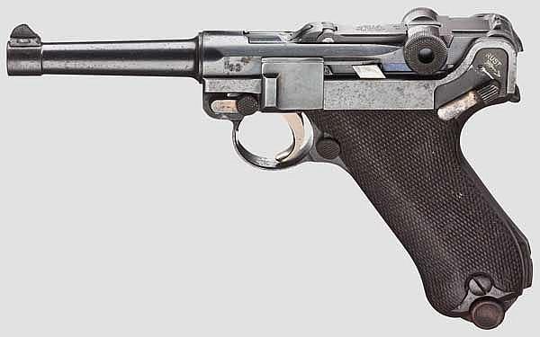 Parabellum Dutch Navy Mauser Kontrakt,