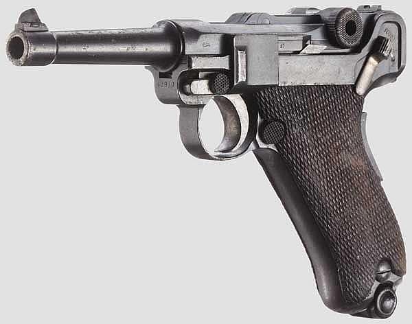 A Parabellum Mod. 1906, Dutch Normaal Schietschool 1912