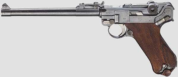 Lange Pistole 08, DWM 1918