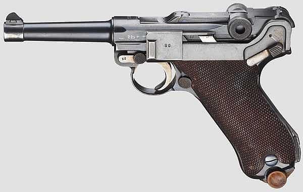 A Parabellum Dutch Navy, Mauser 1937,