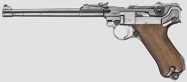 Lange Pistole 08, DWM 1917