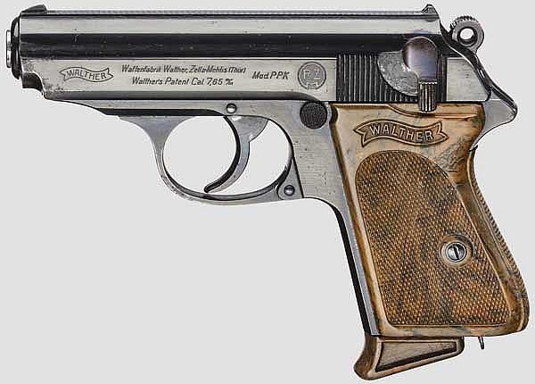 Walther PPK, ZM, RZM, mit PL-Tasche