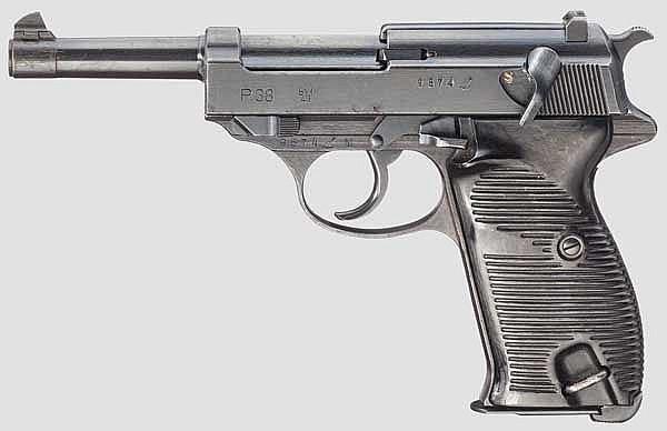 Mauser P 38, Code