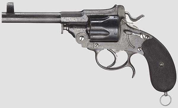 Revolver Typ Mod.1883, J.B. Ronge Fils, Lüttich