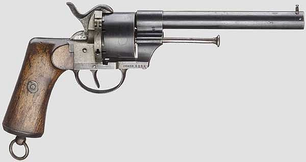 Armeerevolver Mod. 1863, System Lefaucheux