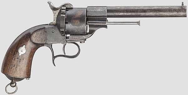 Stiftfeuerrevolver Mod. 1859, Marine