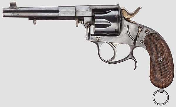 Offiziersrevolver Typ Mod. 1883, J.B. Ronge Fils, Lüttich