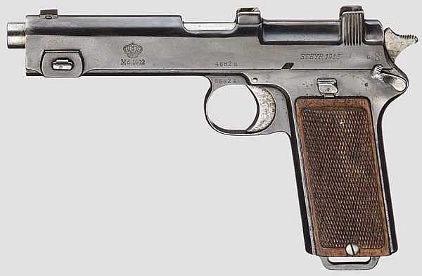 Pistole Automat Mod. 1912
