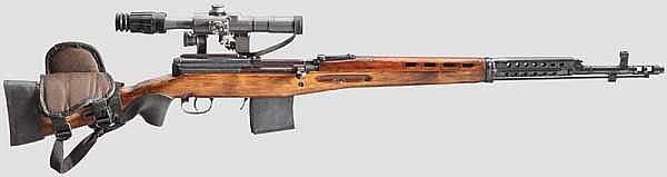 Selbstladegewehr M 40 Tokarev, mit ZF LPS